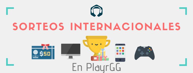 Sorteos online de Playr.GG